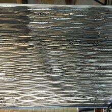 熱熔藝術玻璃廠家訂制熱熔彩色玻璃水紋熱熔玻璃圖片