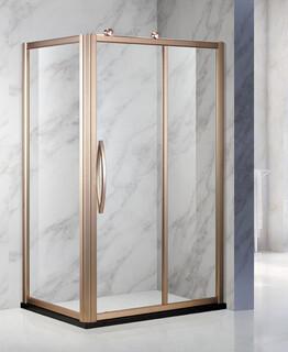 304不锈钢玻璃移门卫生间淋浴房批发图片2