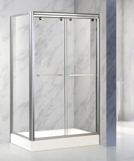 304不锈钢玻璃移门卫生间淋浴房批发图片3