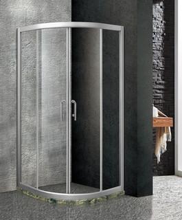 304不锈钢玻璃移门卫生间淋浴房批发图片4
