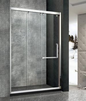 新款304不锈钢玻璃隔断淋浴房