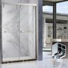 304不锈钢玫瑰金淋浴房玻璃隔断