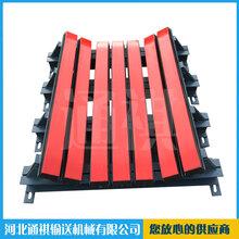 矿业输送机配件聚氨酯清扫器重型缓冲床推荐厂家图片