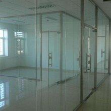 塘沽区定制电动玻璃门,天津安装商场钢化无框玻璃门格调高雅图片