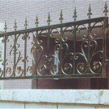 天津西青区铁艺围栏制作,别墅铁艺护栏安装价格公道图片