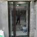 塘沽区定制钢化玻璃门-肯德基门制作厂家-天津玻璃门安装