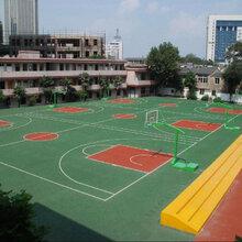 硅pu篮球场每平方米价格图片