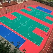 沧州篮球场悬浮地板安装步骤图片