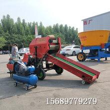 吉林黑麦草打包机青贮包膜打捆机厂家图片