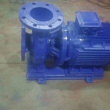 卧室管道泵ISG40-160A立式管道泵离心泵流量2.1L/S扬程26米电机1.5KW图片