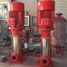 管道立式消防泵离心泵消防50LG18-20x3给水成套设备图片