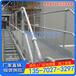 广州球型立柱栏杆厂家茂名工厂镀锌球接栏杆三球立柱供应