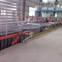全自动化制板机秸秆板制板生产机械图片