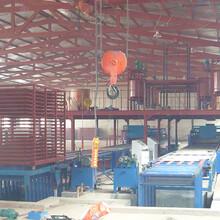 山东创新建材匀质板生产机械图片