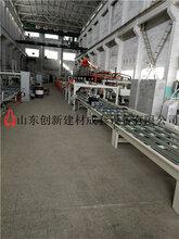 墙板生产机械水泥纤维夹心复合墙板设备图片
