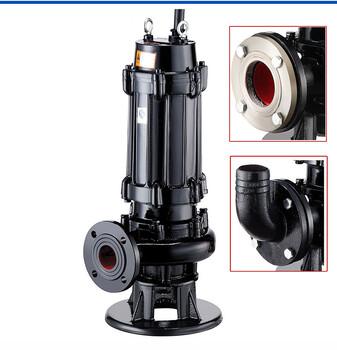 深圳QW無堵塞排污泵50WQ10-15-1.1KW潛水污水污物泵2寸污水抽水泵