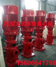 安徽XBD-DL立式多级泵价格登泉供应XBD2.2/5-50×2多级消防泵报价浙江生产厂家图片
