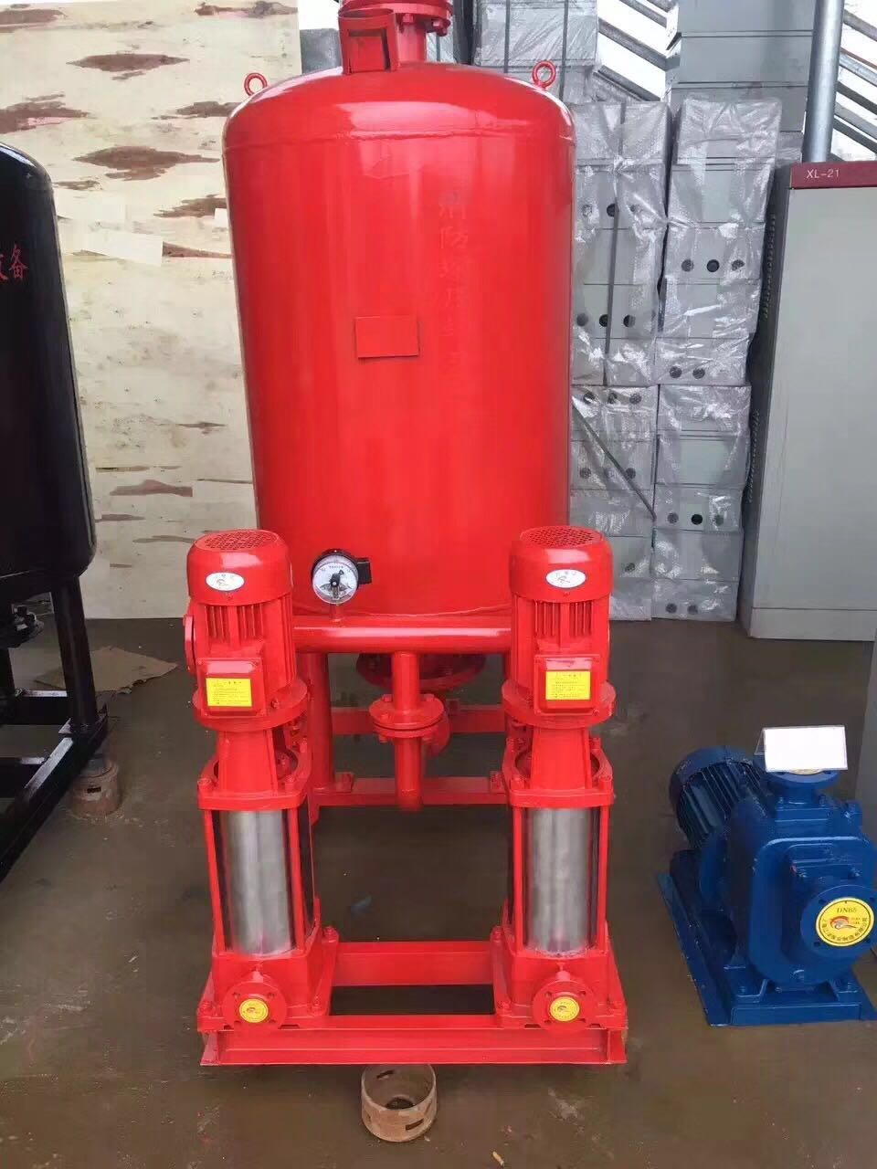 上海CCCF喷淋泵增压稳压成套设备/消火栓多级泵/管路机组气压罐8001.0