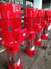 3CF多级消防泵XBD8.4/20G-GDL消火栓喷淋多级泵30KW流量价格图片