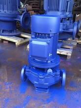 上海ISG管道离心泵ISG150-250(I)B/不锈钢管道离心泵/IRG热水循环泵图片