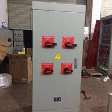 消防机械应急启动装置自藕降压星三角强启手动消防喷淋水泵控制柜图片