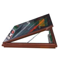 屋頂天窗閣樓天窗斜屋頂陽光房天窗電動手動推拉鋁合金天窗定制圖片