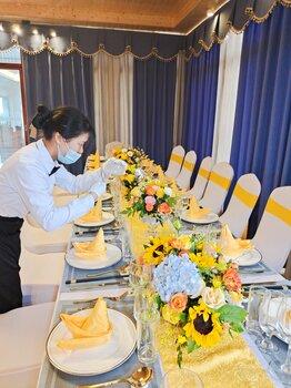 深圳龍華求婚場地安全可靠,年會圍餐酒席