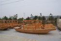 兴化昭阳湖直销观光船、单蓬船、手划船图片