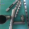 立式卧式不锈钢冲孔机管子破口机防盗网打孔机模具圆管冲弧机
