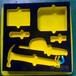 供应优质EVA工具内托海绵箱包内衬eva植绒包装