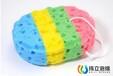 東莞工廠供應彩色海藻泡棉,沐浴海綿球,卡通沐浴海綿,洗澡海綿