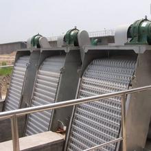 污水提升泵站用GSHZ型回轉式格柵除污機配套皮帶輸送機圖片