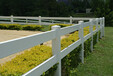 海口PVC赛马场度假村安全性高出口耐高温马术围栏马场护栏