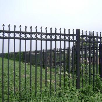 河源小区围栏光滑平整无焊接穿插组合锌钢护栏配件批发