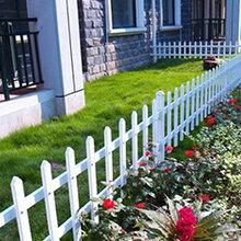 pvc护栏U-PVC马场护栏PVC公路护栏-草坪护栏-庭院围墙护栏-变压器护栏图片