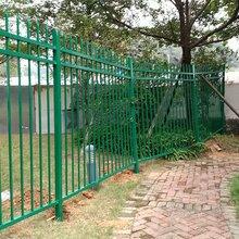 东莞院墙铁艺栅栏围墙小区镀锌管庭院栏杆别墅铝艺护栏锌钢围栏厂家批发价