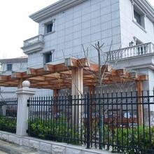 锌钢护栏,锌钢围墙围栏,别墅小区,铝合金围墙围栏图片