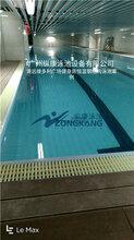 整体可拆装式钢结构泳池的制作流程