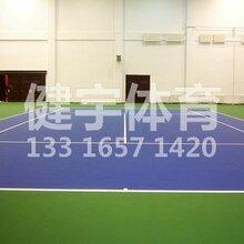 硅PU球场广东深圳周边硅PU球场施工好?#20998;?#22238;弹力更好图片