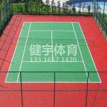 丙烯酸球场地面施工面向广东地区深圳周边可要求达到2.0mm丙烯酸篮球场羽毛球场图片