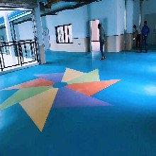 深圳PVC地板_PVC施工_PVC地板施工_经久耐磨_环保材质图片