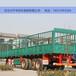 河北邯鄲金路13米倉欄平板半掛車廂生產加工廠家直銷輕量化設計支持以舊換新