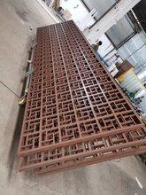 深圳城区改造装饰铝方通格栅外墙木纹铝合金花窗多少钱一平米