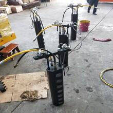 比破碎锤效率高的设备液压劈裂器南充图片