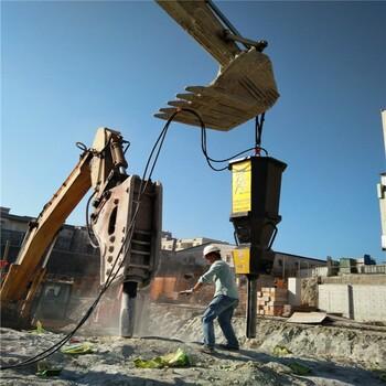鎂礦開采靜態快速破石頭的機器渾源