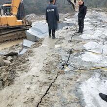 江津比破碎锤开挖石头快的静态设备图片