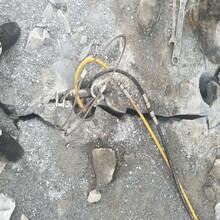 珠海岩石开采膨胀剂慢用什么碎石快图片