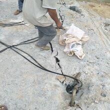 黑河矿山开采代替放炮的设备现场