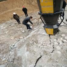璧山采石场赶工期用静态岩石设备图片