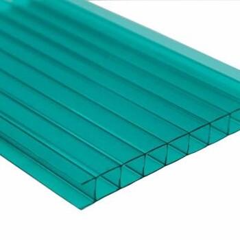 潍坊供应全新料8mm_双层阳光板、用于温室、养殖大棚、工业厂房、雨棚——典晨品牌
